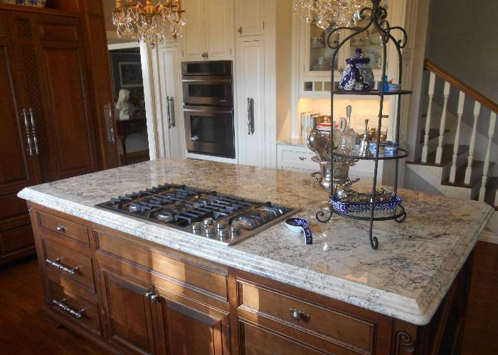 Countertops Fabricated From Granite And Quartz Are Famous For Their Beauty  And Durability. The Ability Of Natural And Man Made Stone To Resist Scuffs  And ...