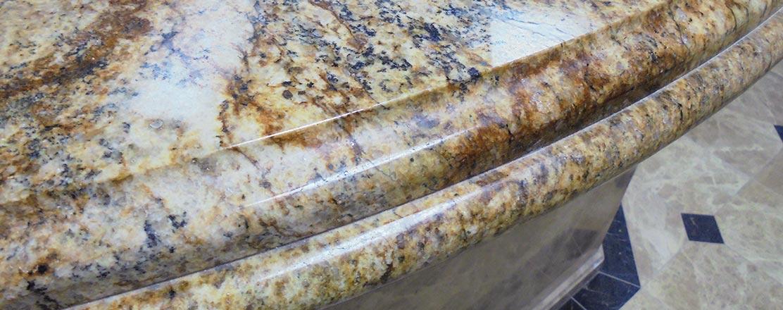 Natural and Engineered Stone Edge Profiles
